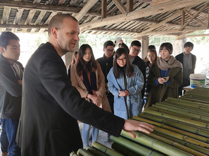 COMPOSITE BAMBOO AND CONCRETE SHELL STRUCTURES